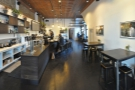 ... while this is the view towards the back, counter on the left, more seating to the right.