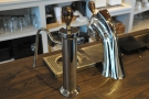 This is at the front of the counter and is used exclusively for the single-origin espresso.