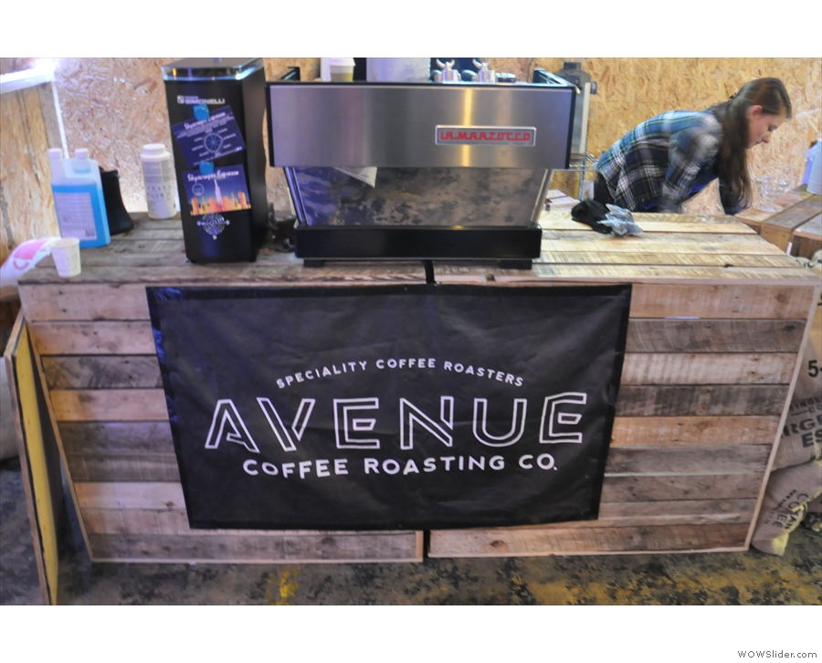 Rounding off the 'A's last year, Avenue Coffee had come down all the way from Glasgow!