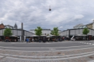 Torvehallerne, home of the Coffee Collective, as seen from the southern end.