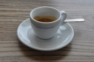 My espresso, on its own...