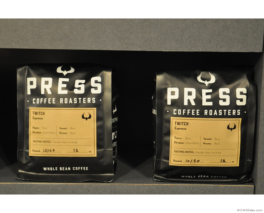 Twitch is the house espresso blend...