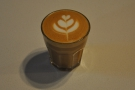 My decaf cortado from my first visit.