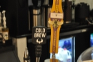 There's also cold-brew and nitro cold-brew, with the bulk-brewers behind.