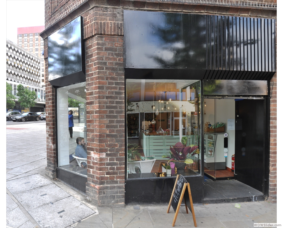 It's another Nottingham coffee shop without its name on display...