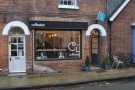 The Coffee Lab, on Winchester's St Thomas St, as seen when approaching from the High St...