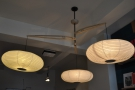 March: an interesting solution for hanging multiple light bulbs. Prolog Coffee, Copenhagen.