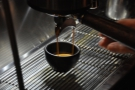 The trick with any lever machine is to remove the cup while the espresso is still extracting.