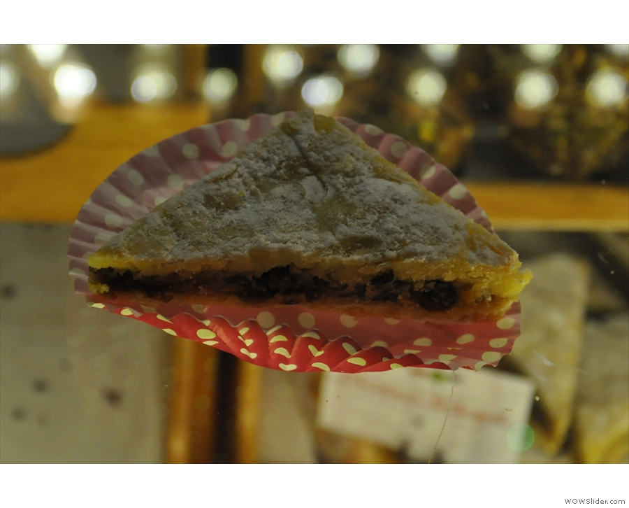 ... including this, the Christmas Bakewell (it's December now, so I can say the 'C' word).