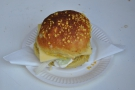 ... but not to fear, Barnhouse Bistro made me a special cheese and salad sandwich!