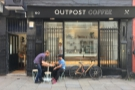 Outpost Coffee: turning from roaster to coffee shop on Nottingham's Stoney Street.