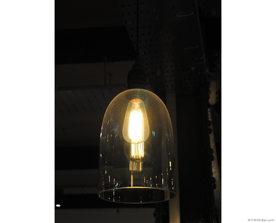 ... although of these, this one, above the counter, was my favourite. How many light bulbs?