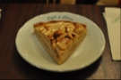 I went for the apple tart on my visit in 2013.