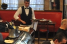 Waiters at work during my visit in May 2013.