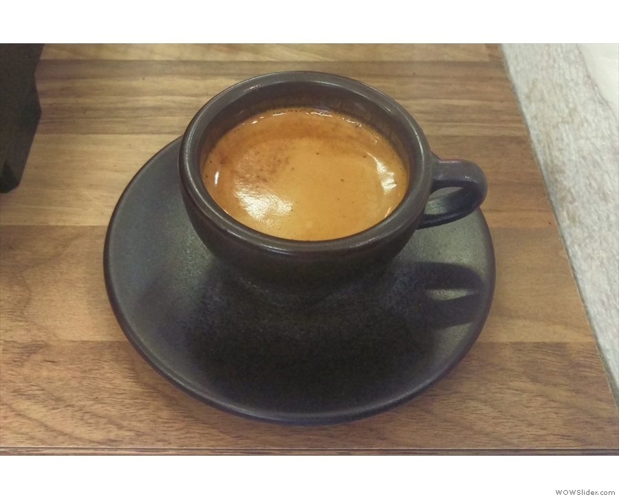 Talk of natural materials, the Kaffee Form cup is made from recycled coffee grounds!