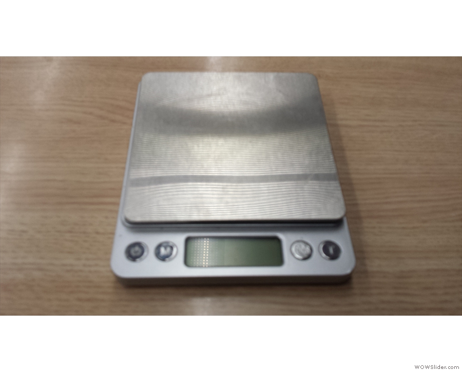 If you want to go to the next leverl of coffee geekdom how about some scales?