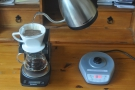 However, the kettle really comes into its own when doing pour-over filter.