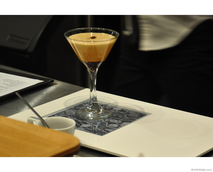 I'll leave you with a photo of Ogawa's signature drink, although I never found out what it was!