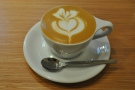 I finished things off with a decaf cappuccino which was excelllent.