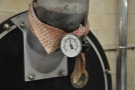 Old school temp! Have you ever seen such a well-dressed roaster? It has its own neck scarf!