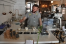 Happy people often make good coffee in my experience. Here's Alex making my pour-over.