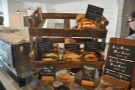 Some of the sandwiches on offer at Cartwheel, as displayed on the counter...