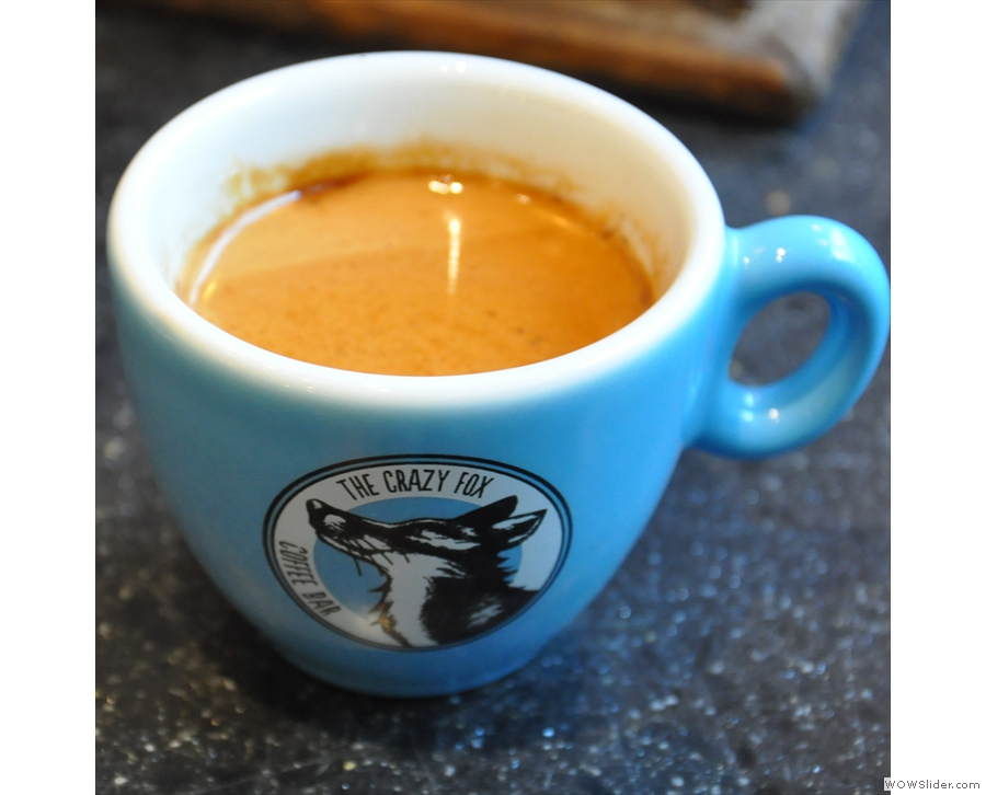 Bringing speciality coffee to the High Street, Bristol's The Crazy Fox.