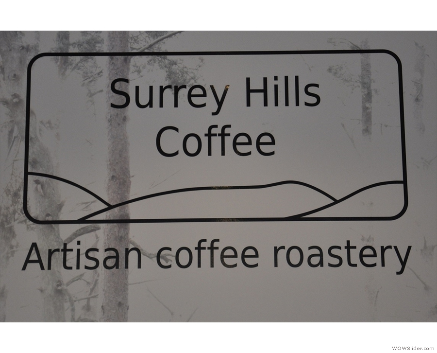 I've waited a long time for a speciality coffee shop in my home town: Surrey Hills Coffee.