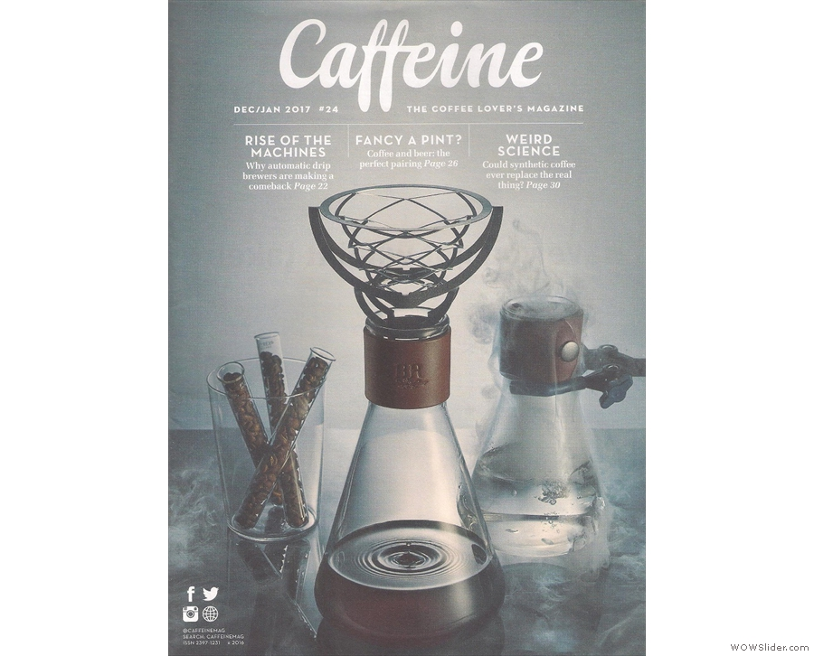 A perennial favourite, Caffeine Magazine, where I write the Neighbourhood Watch feature.