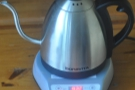 One of my rare pieces on coffee equipment and the joys of the Bonavita Gooseneck Kettle.