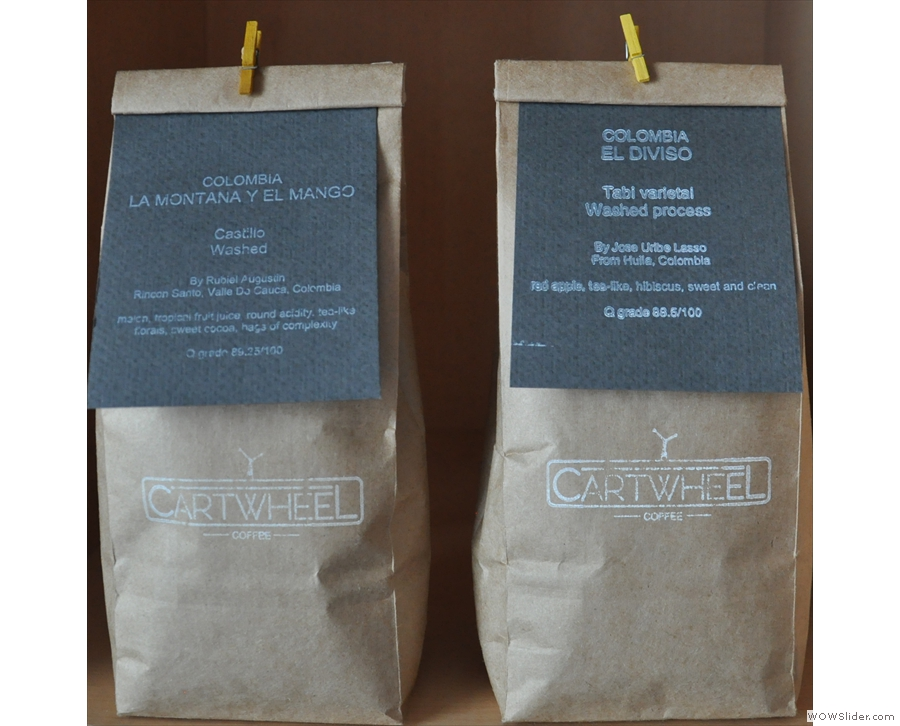 Cartwheel Cafe & Roastery, joining the ranks of Nottingham's cafe/roasters.