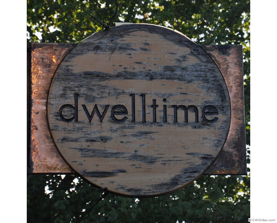 Dwelltime/barismo 364 in Cambridge, Massachusetts, with its amazing island counter.