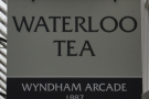 Waterloo Tea's third branch, spread over two floors in the Wyndham Arcarde, Cardiff.