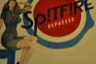 Spitfire Espresso, where a warm welcome awaits from owners Danny and Emily.