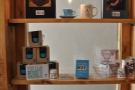 For sale, Keep Cups, V60 filters and the Coffee Map of London (in case you are lost and ended up in Bristol by mistake!)