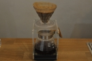 I had the La Palmera from Costa Rica which came through the V60.