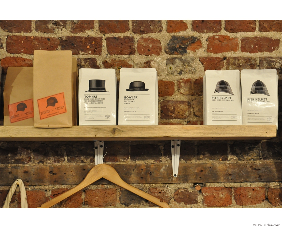 ... which includes bags of The Gentlemen Baristas' coffee.