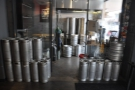 ... while on your right, just inside the door, is Cartel's cold brew facility.