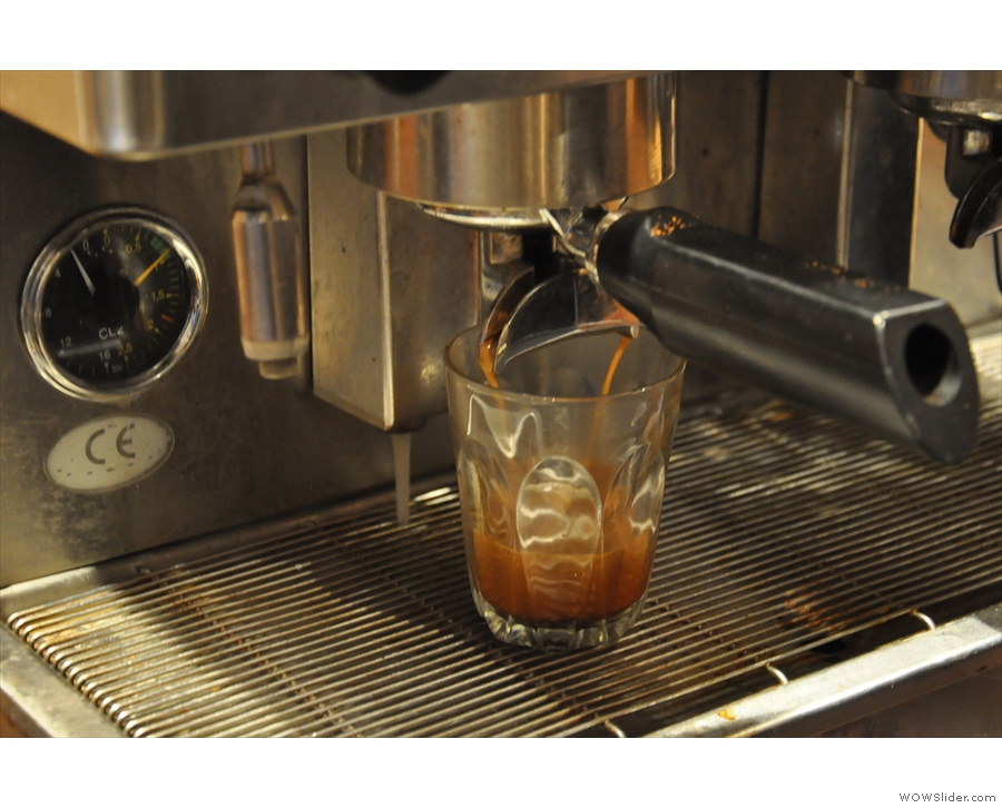 ... particularly watching the way the crema evolves.