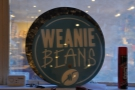 There's not a lot to see from the outside at Weanie Beans. I only found this once inside!
