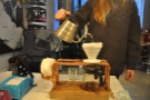 I love watching coffee being made.
