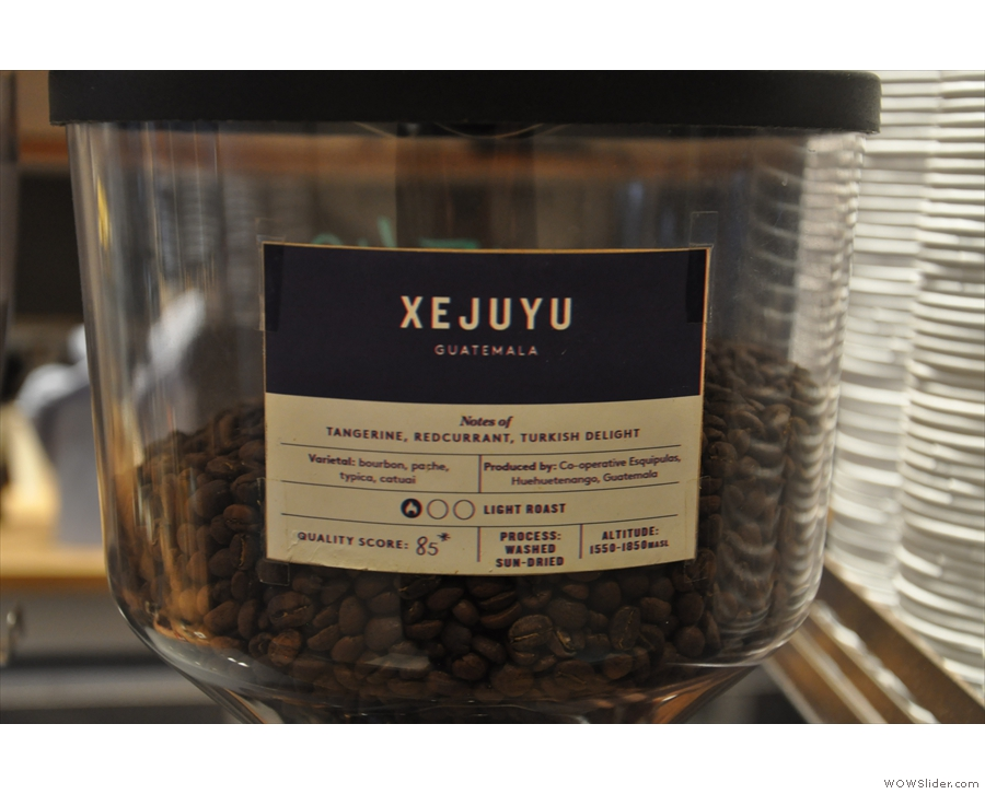 ... which houses a Guatemalan single-origin from Union.