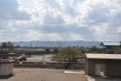 On the positive side, looking south there are mountains on the far horizon, which I like...