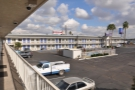 My Motel 6, down by the airport.