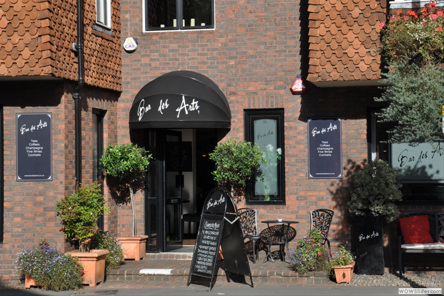 Bar des Arts, on Millbrook, is my favourite Guildford Coffee Spot