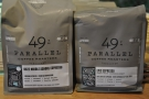 ... which, while I was there, contained these two espresso blends.