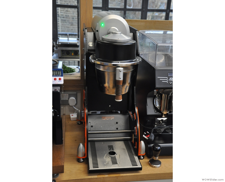 ... which is a protoype automatic pour-over machine.