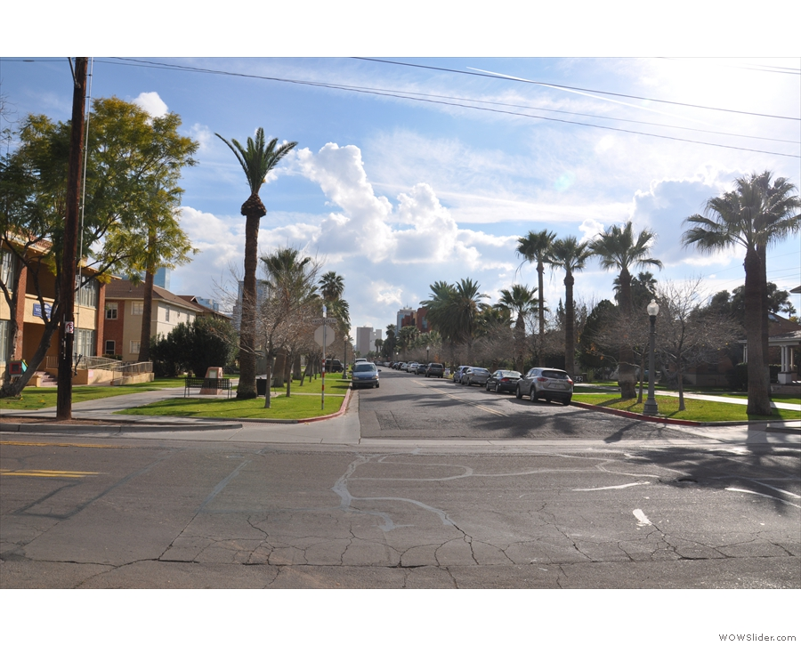 Less than 10 blocks north, and suddenly downtown Phoenix had turned low-rise.