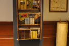 Other nice touches include a magazine/book rack just past the counter on the left.