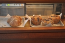 ... and pastries.